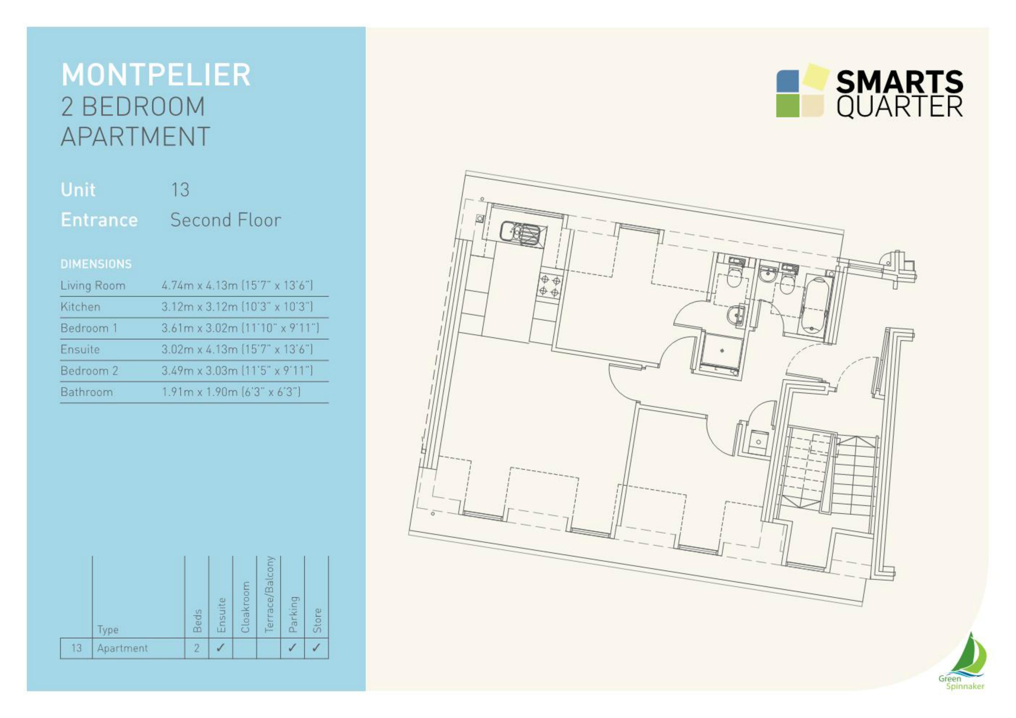 Montpelier Floor Plan