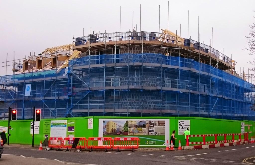 External View of Smarts Quarter Apartments Bristol