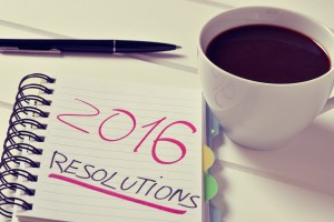 New years resolutions for 2016